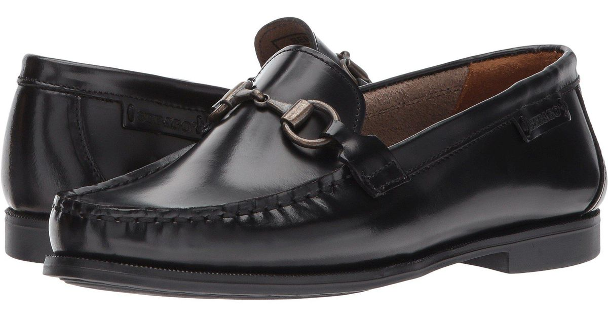 3f1077d1b20 Lyst - Sebago Plaza Bit (black Leather) Women s Shoes in Black