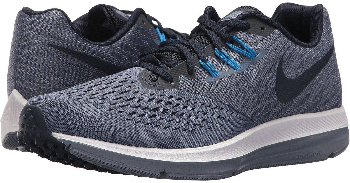 896dea34411f Lyst - Nike Zoom Winflo 4 Running Shoes in Blue for Men