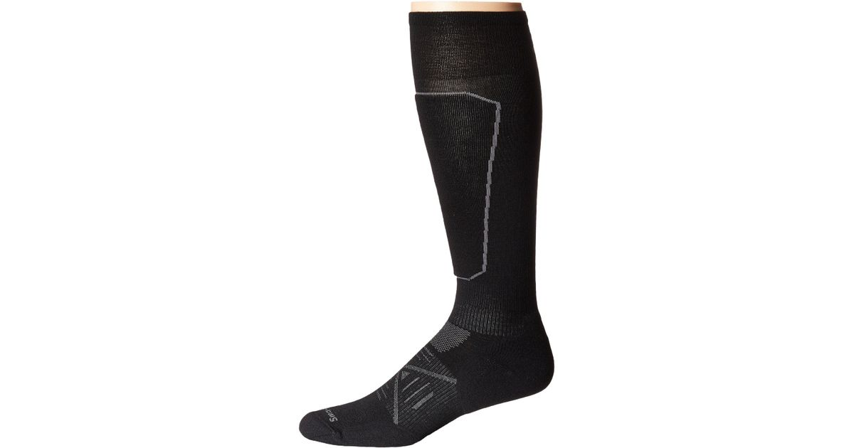 a65630b2dd7 Lyst - Smartwool Phd Ski Light Elite (black) Men s Knee High Socks Shoes in  Black for Men