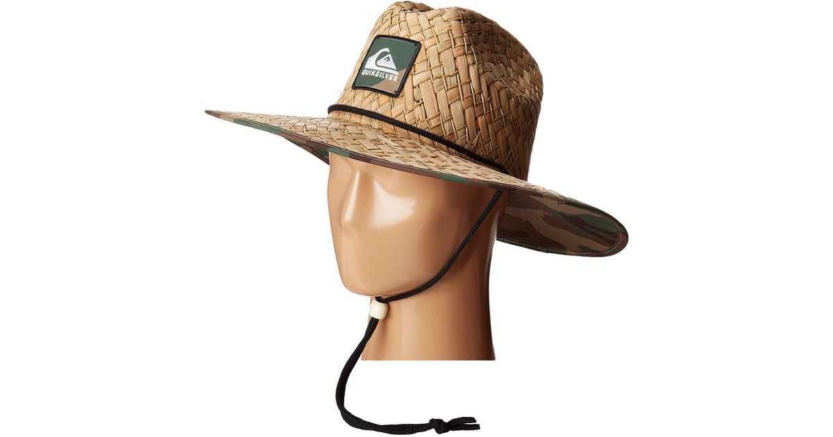 c1895ddbf1f Quiksilver Outsider Lifeguard Hat in Natural for Men - Lyst