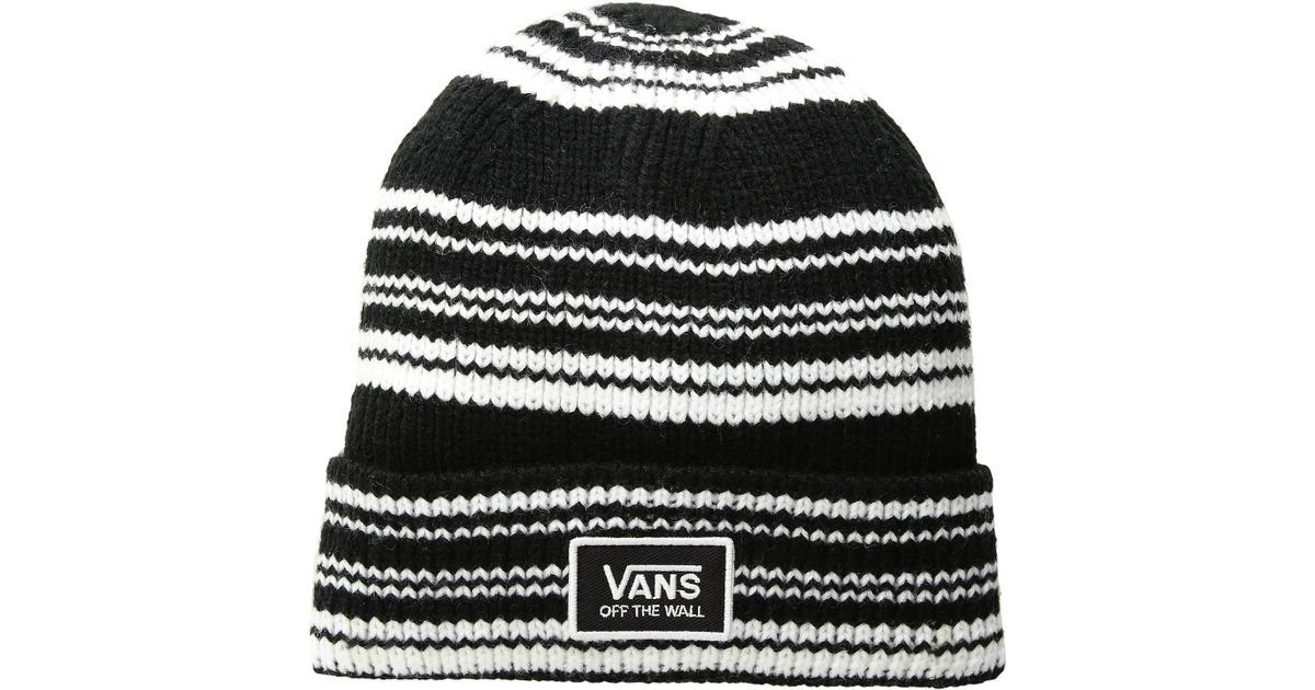 a7134d789d4 Lyst - Vans Falcon Beanie (medieval Blue scooter) Beanies in Black