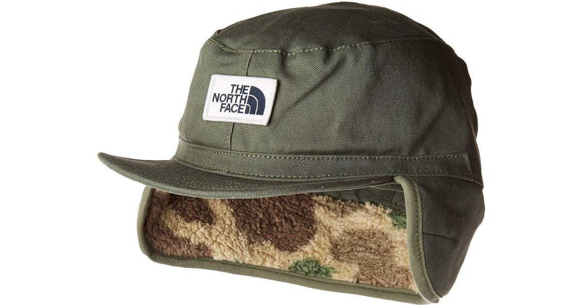 46ab6f03196 Lyst - The North Face Campshire Earflap Cap in Green for Men - Save 32%