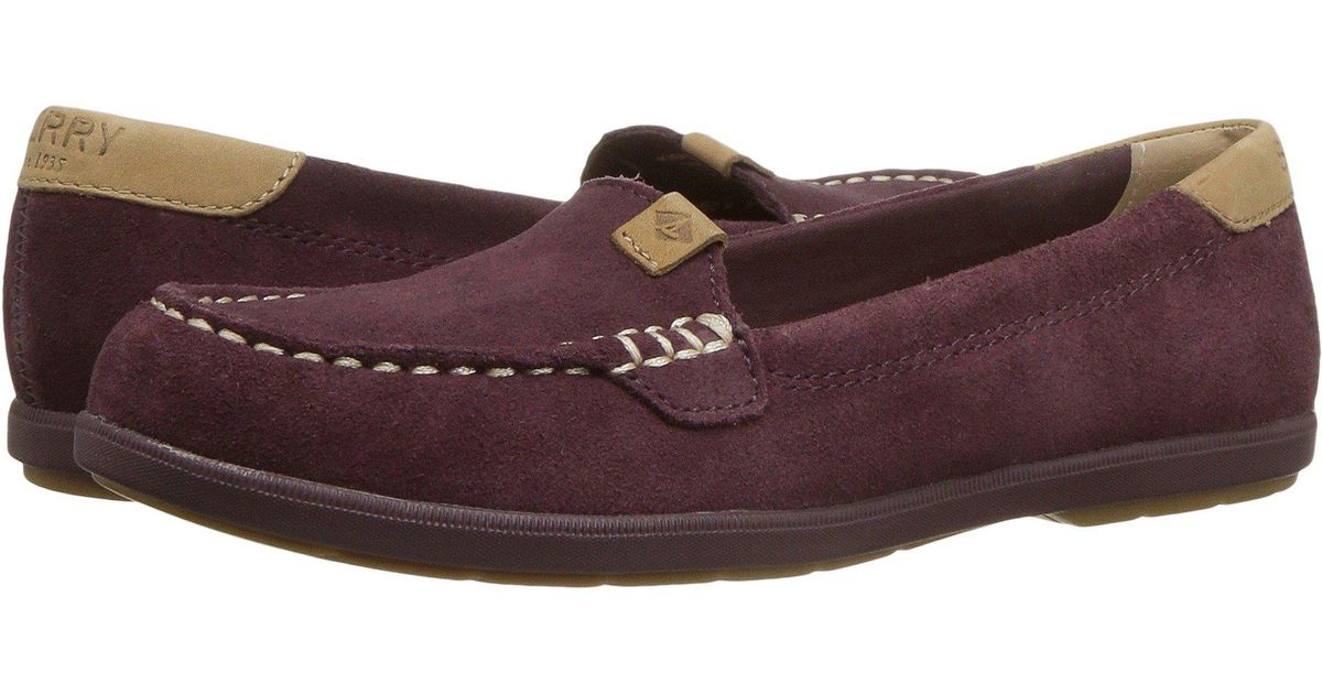 252ccdefc6d Lyst - Sperry Top-Sider Coil Mia Suede