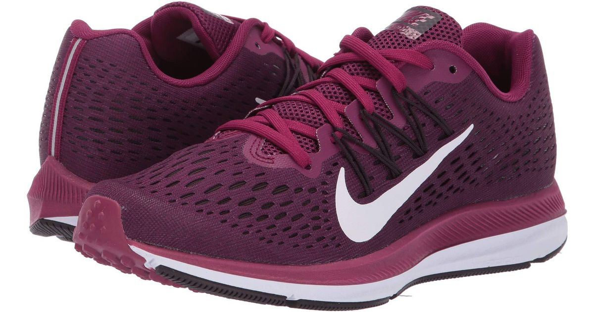 e0068f9b9 Nike Air Zoom Winflo 5 Running Shoes in Purple - Save 39% - Lyst