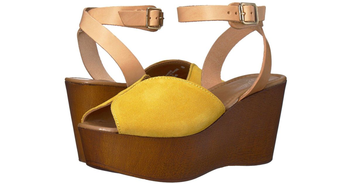 7970e045553a Lyst - Seychelles Laugh More Platform in Yellow