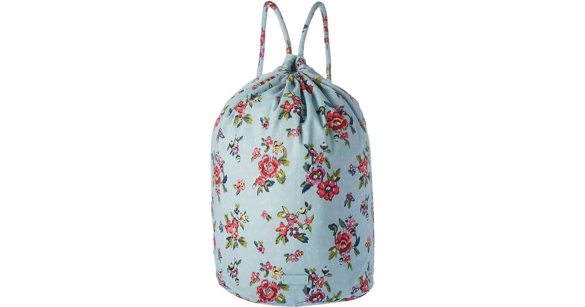 Lyst - Vera Bradley Iconic Ditty Bag (water Bouquet) Bags in Blue 93ceb398b1d59