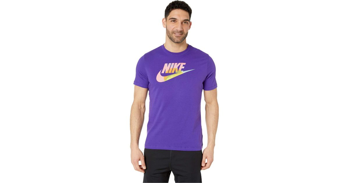 3e4f34b7f39e Nike Nsw T-shirt Story Pack 8 in Purple for Men - Lyst