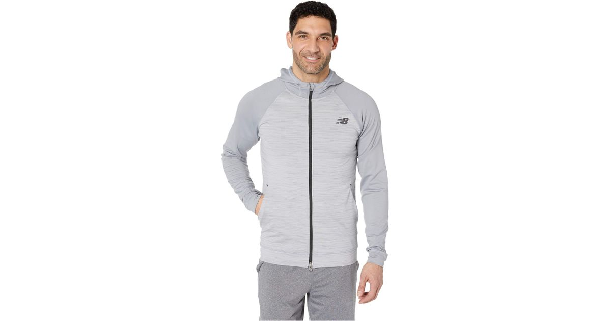 6a4bbf26f0ffd New Balance Anticipate 2.0 Jacket (athletic Grey) Coat in Gray for Men -  Save 2% - Lyst