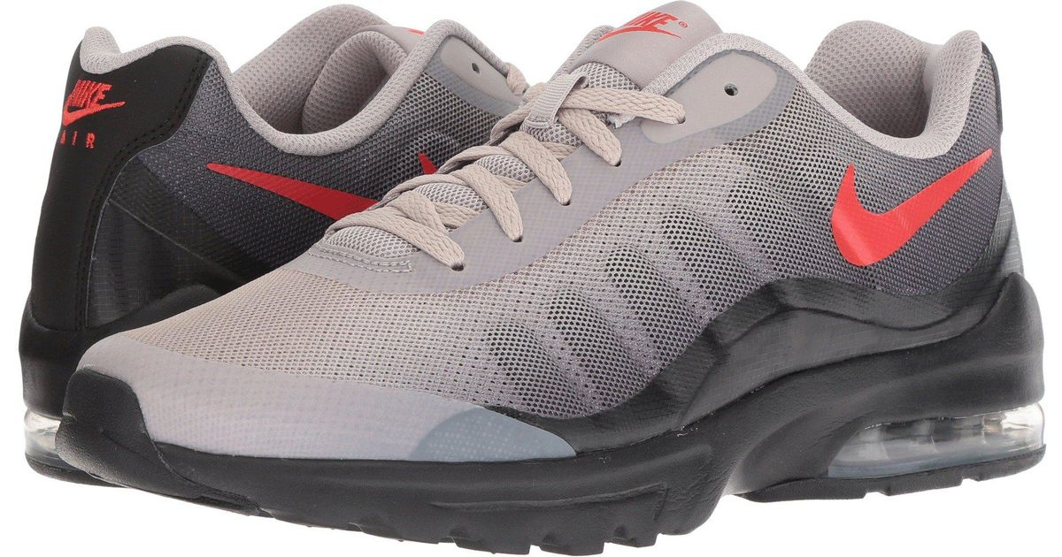 c78a05eaf0b4 ... get lyst nike air max invigor print black black moon particle habanero  red mens shoes in