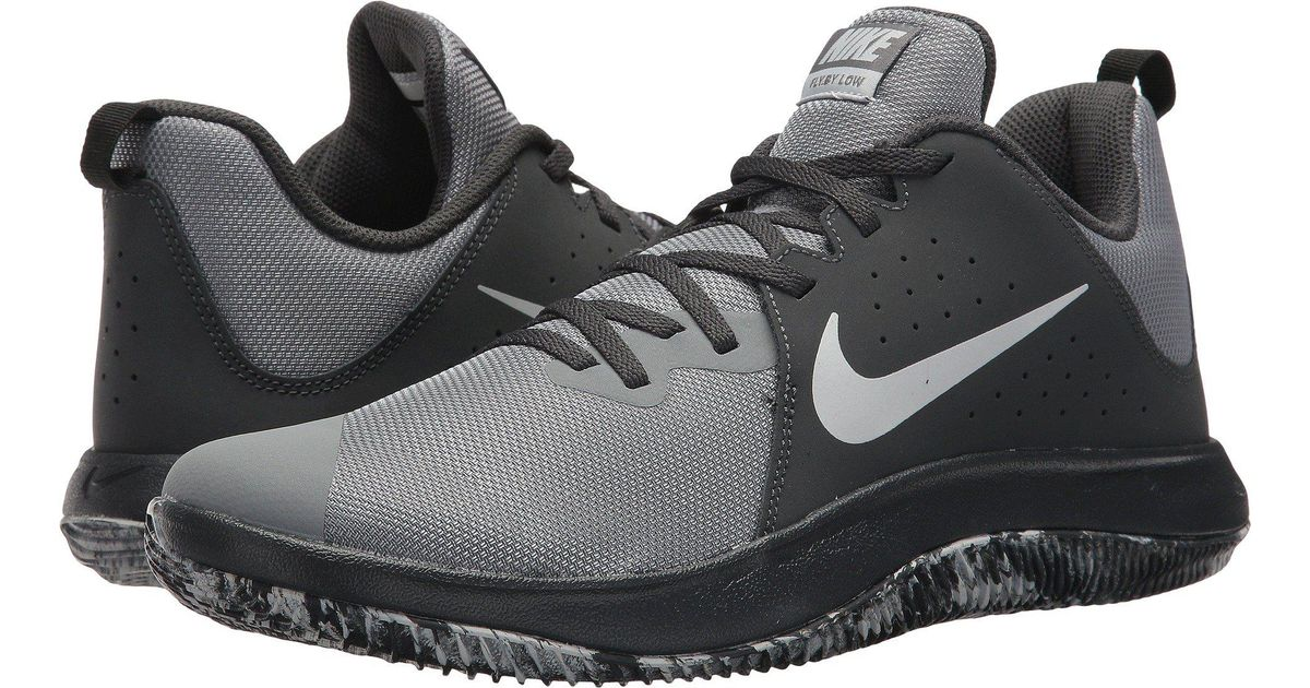 3d222ed3392d Lyst - Nike Fly.by Low (black white) Men s Basketball Shoes in Gray for Men