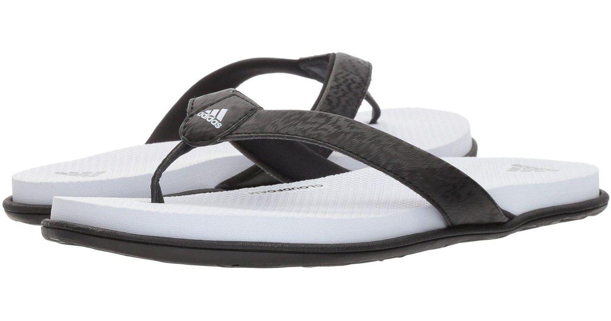 927fe5bf1 Lyst - adidas Cloudfoam One Y Sandal in Black - Save 10%