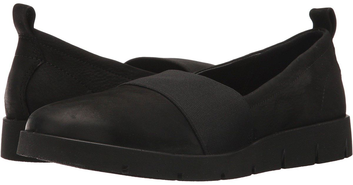 b0a7a25a7956 Lyst - Ecco Bella Stretch Slip-on in Black