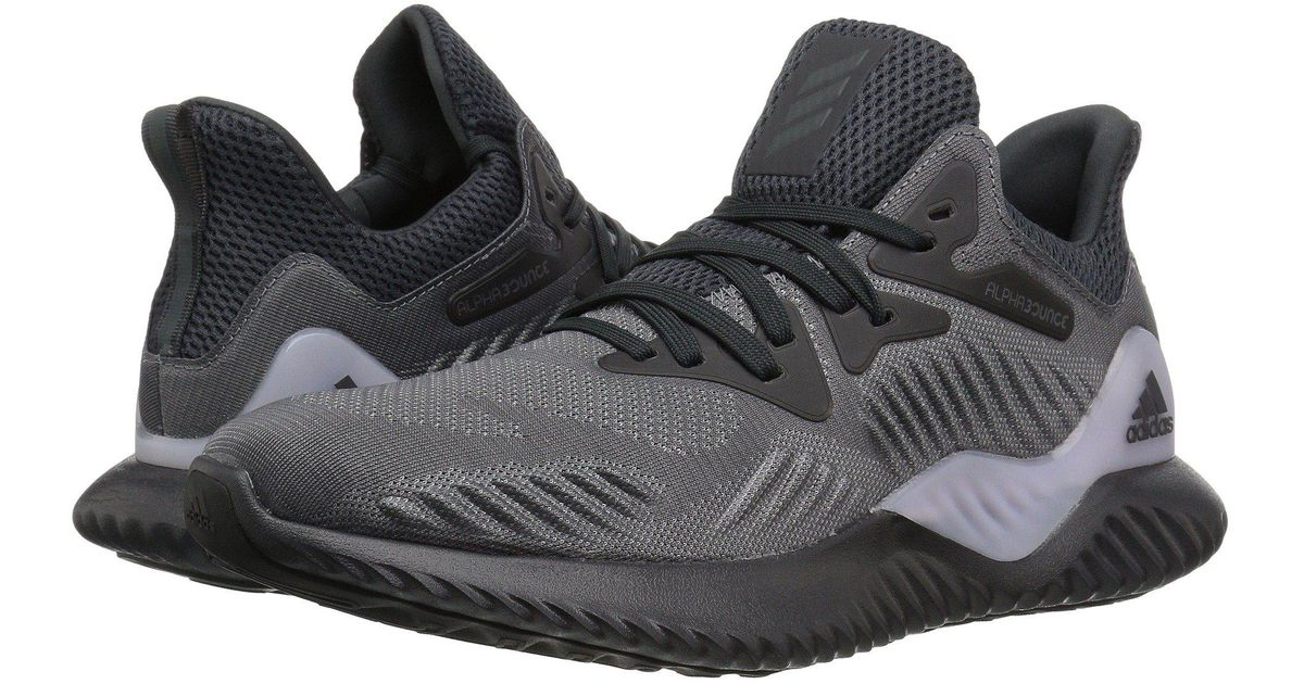 1728a314caed7 Lyst - adidas Originals Alphabounce Beyond (raw Grey orchid Tint legend  Ink) Women s Running Shoes in Gray