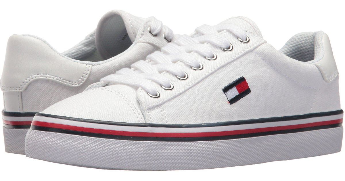 cca0dcdc Tommy Hilfiger Fressian (white Multi Fabric) Shoes in White - Save 41% -  Lyst