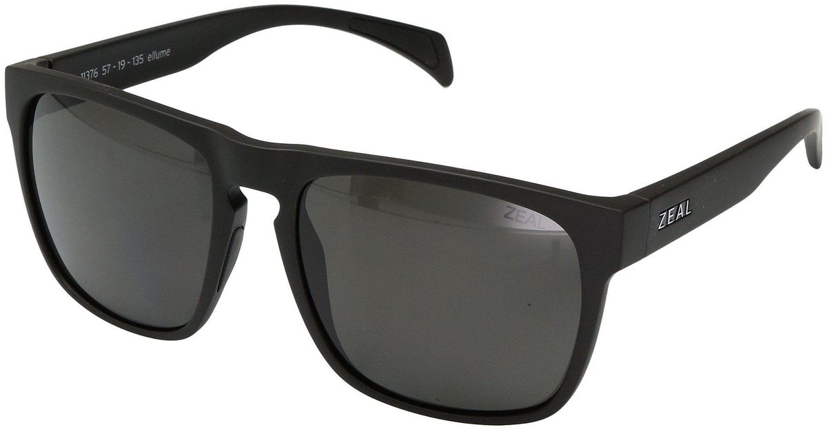 c6fa353a4f1 Lyst - Zeal Optics Capitol (matte Black W  Polarized Dark Grey Lens) Sport  Sunglasses in Black