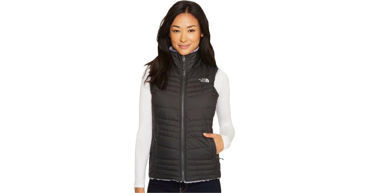 033a11579cb1 Lyst - The North Face Mossbud Swirl Vest (asphalt Grey mid Grey (prior  Season)) Women s Vest in Gray