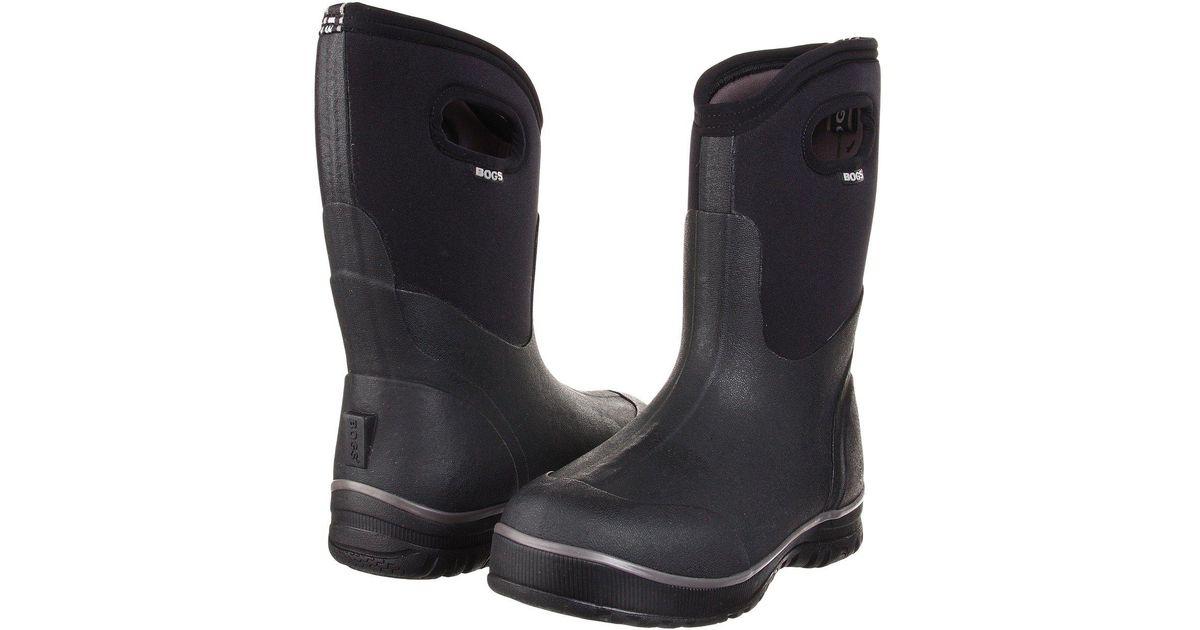 1fe06805e7d Bogs - Classic Ultra Mid (black) Men's Waterproof Boots for Men - Lyst