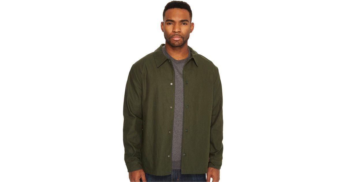 fe3a04a5e7c Brixton Wright Jacket in Green for Men - Lyst