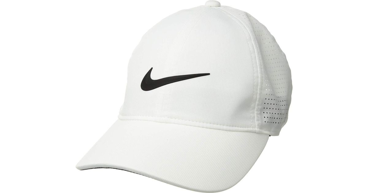 c40fdc618 Nike Aerobill L91 Cap Perf (bue Void/anthracite/white) Caps in White - Lyst