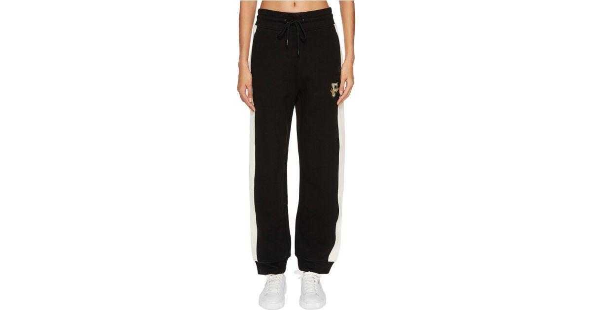 14965259ff3 Lyst - PUMA X Fenty By Rihanna Fitted Panel Sweatpants in Black