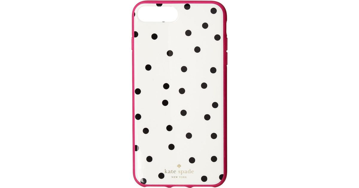 best service 7762c 017f0 Kate Spade - Multicolor Dancing Dot Phone Case For Iphone® 7 Plus/iphone® 8  Plus - Lyst