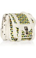 Proenza Schouler Ps1 Pouch Leather Shoulder Bag
