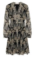 Matthew Williamson Printed Silkchiffon Dress