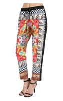 Clover Canyon Grand Finale Print Crop Pants - Lyst