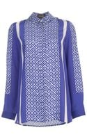 Saloni Printed Shirt - Lyst