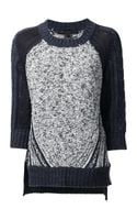 Marc By Marc Jacobs Textured Knit Sweater