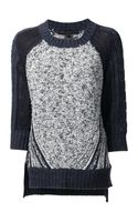 Marc By Marc Jacobs Textured Knit Sweater - Lyst