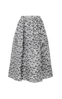 Whistles Pelt Print Silk Skirt