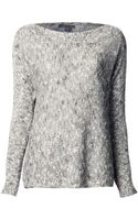 Vince Exclusive Knit Sweater - Lyst