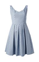 Pinko Polka Dot Print Aline Dress