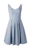 Pinko Polka Dot Print Aline Dress - Lyst