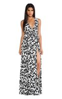 Rachel Pally Crawford Wrap Maxi Dress - Lyst