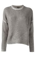 Joseph Thick Knit Sweater - Lyst
