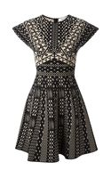 Valentino Patterned Dress - Lyst