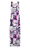 Emilio Pucci Printed Jersey Maxi Dress - Lyst