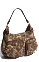 B. Makowsky Dina - Large Zip Patch Pocket Leather Hobo - Lyst