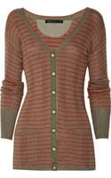 Marc By Marc Jacobs Aurelie Cotton and Cashmere-blend Cardigan