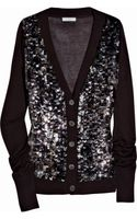 Adam Sequined Bamboo and Cashmere-blend Cardigan