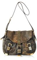 Michael Kors Darrington Leather Saddle Bag