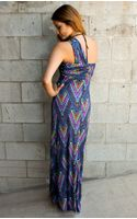 Mara Hoffman Twist Front Maxi Dress