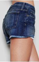 Current/Elliott The Boyfriend Short - Lyst