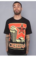 Obey The Skyline Basic Tee in Black