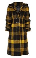 Burberry Prorsum Plaid Wool Coat