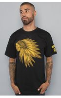 Vans The Headdress Tee in Black - Lyst