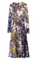 Mary Katrantzou Wild Rose Printed Silk-satin Dress