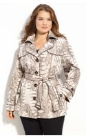 Gallery Animal Print Trench